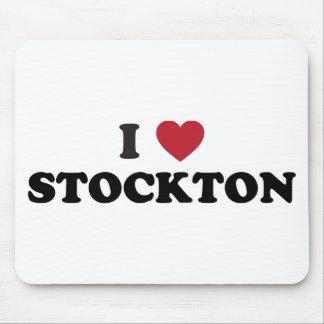 I Love Stockton California Mouse Pad