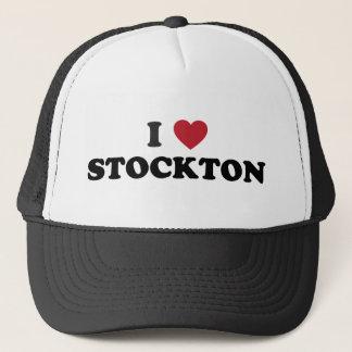 I Love Stockton California Trucker Hat