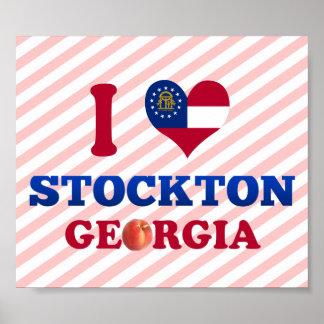 I Love Stockton, Georgia Poster