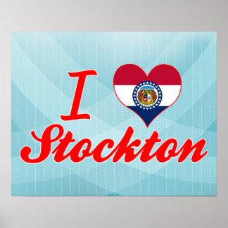 I Love Stockton, Missouri Poster