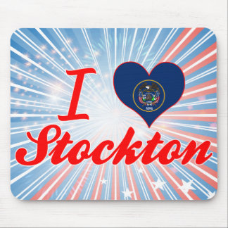 I Love Stockton, Utah Mouse Pad