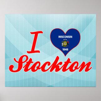 I Love Stockton, Wisconsin Print