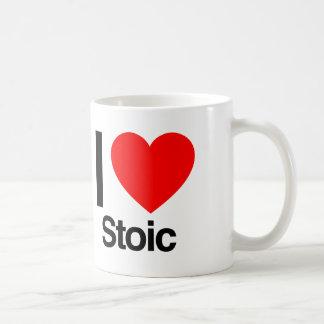 i love stoic coffee mug