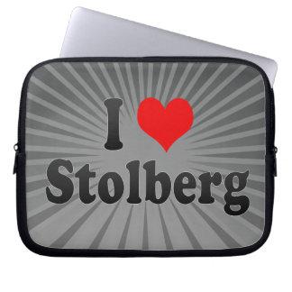 I Love Stolberg Germany Computer Sleeves