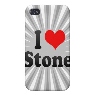 I love Stone iPhone 4/4S Covers