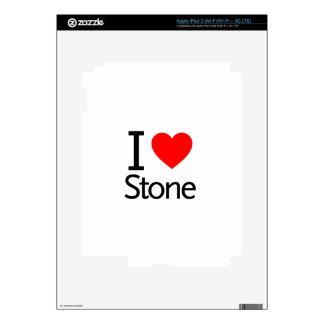 I Love Stone Skin For iPad 3