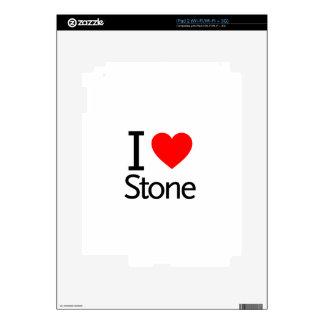 I Love Stone Skins For iPad 2