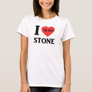 I Love Stone T-Shirt