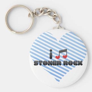 I Love Stoner Rock Keychains