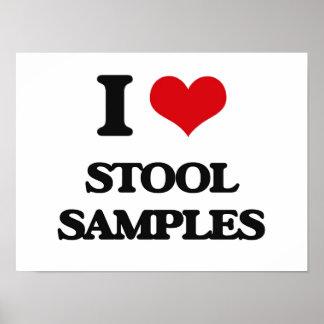 I love Stool Samples Poster