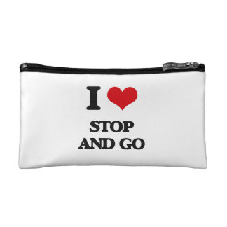 I love Stop And Go Cosmetic Bags