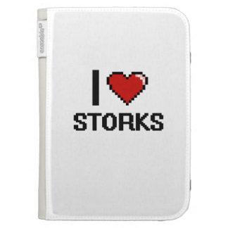 I love Storks Digital Design Kindle Keyboard Case