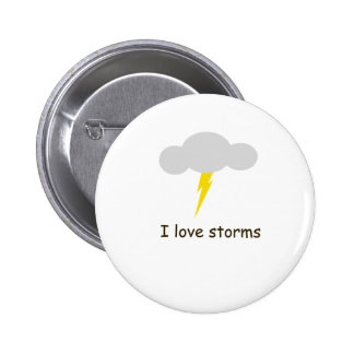 I love storms pin