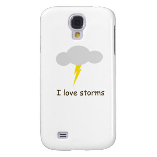 I love storms galaxy s4 cover