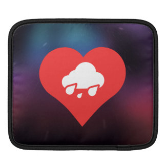 I Love Storms Icon Sleeve For iPads