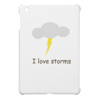 I love storms iPad mini cases