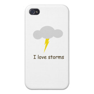I love storms iPhone 4/4S case