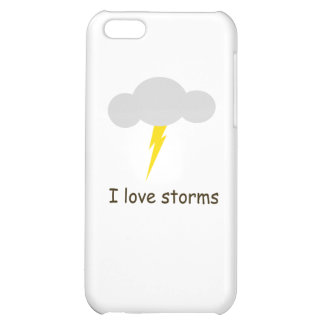 I love storms iPhone 5C cases