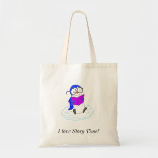 I Love Story Time! Budget Tote Bag