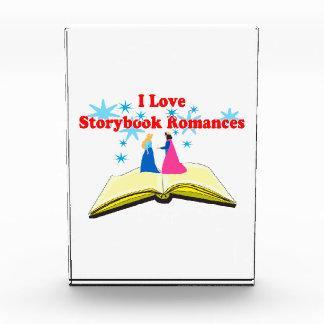 I Love Storybook Romances Acrylic Award