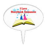 I Love Storybook Romances Cake Topper