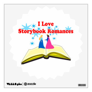 I Love Storybook Romances Wall Sticker