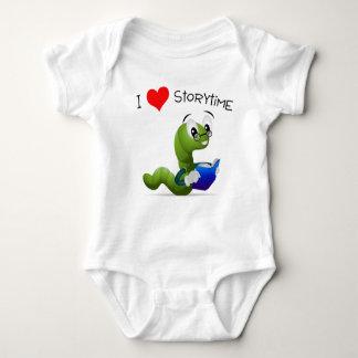 I Love Storytime Baby Bodysuit