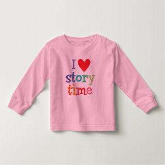 I Love Storytime T-Shirts & Gifts