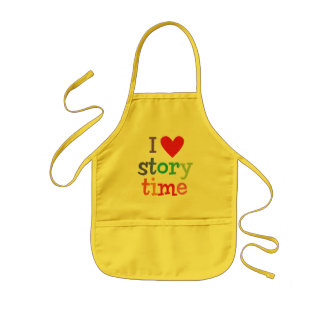 I Love Storytime T-Shirts & Gifts Kids' Apron