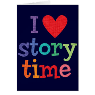 I Love Storytime T-Shirts & Gifts Card