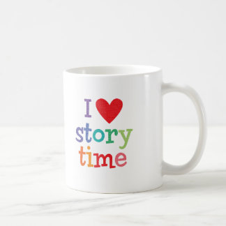 I Love Storytime T-Shirts & Gifts Coffee Mug