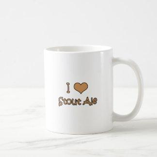 I Love Stout Ale Coffee Mug