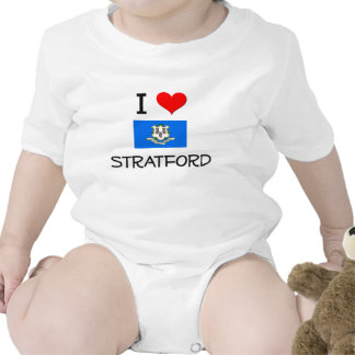 I Love Stratford Connecticut T-shirts
