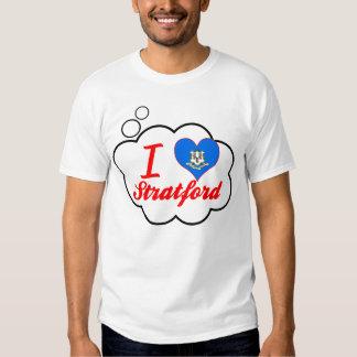I Love Stratford, Connecticut Tshirts