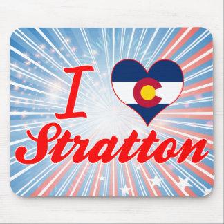 I Love Stratton, Colorado Mouse Pads