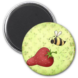 I love Strawberries Magnet