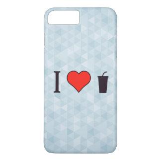 I Love Strawberry Juice iPhone 7 Plus Case