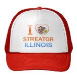 I Love Streator, IL Mesh Hats