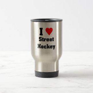 I love street Hockey Travel Mug