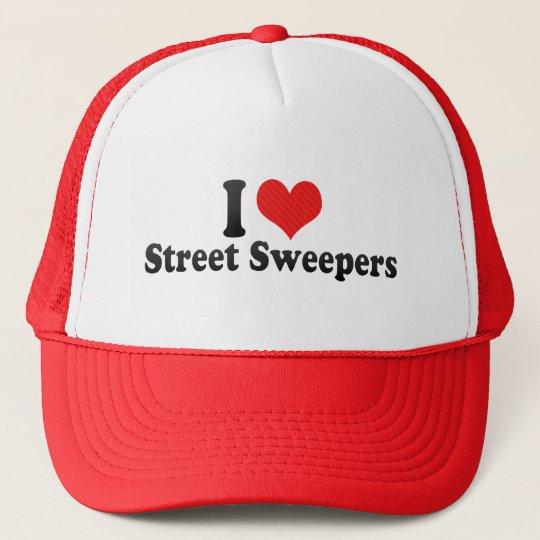I Love Street Sweepers Trucker Hat