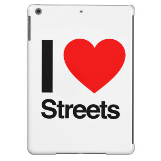 i love streets iPad air cover