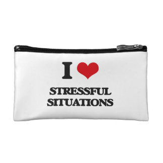 I love Stressful Situations Cosmetic Bag