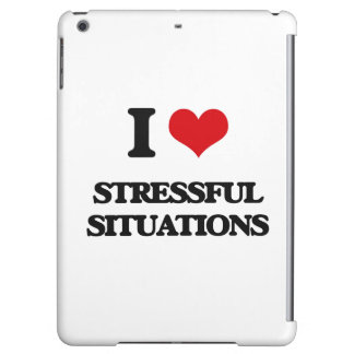 I love Stressful Situations iPad Air Case