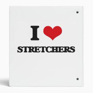 I love Stretchers Vinyl Binder