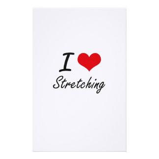 I love Stretching Stationery