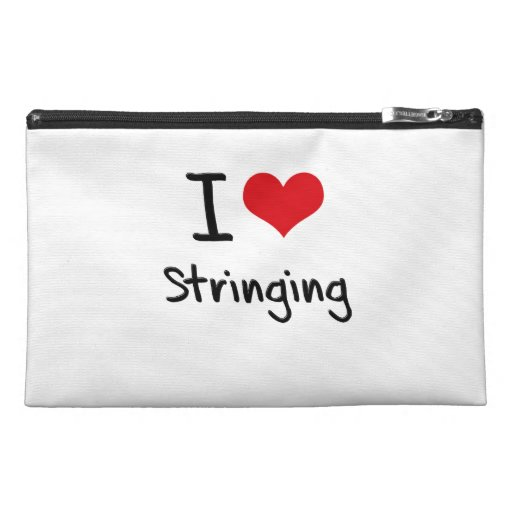 I love Stringing Travel Accessories Bags