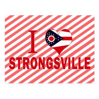I love Strongsville, Ohio Postcard