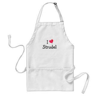 I Love Strudel Aprons