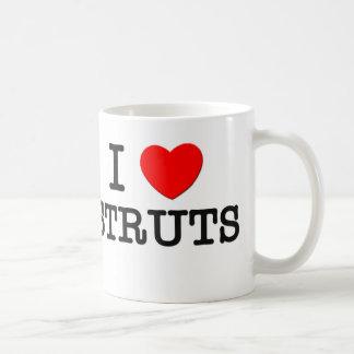 I Love Struts Coffee Mug