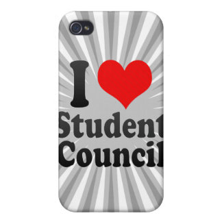 I love Student Council iPhone 4 Cases